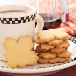 Maple Sugar Cookies Recipe