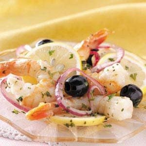 Simple Marinated Shrimp