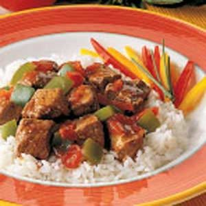 Cajun Pepper Steak Recipe
