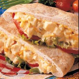 Egg Salad Pitas Recipe