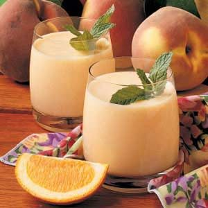 Peach Smoothies Recipe