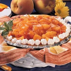Orange Peach Pie Recipe