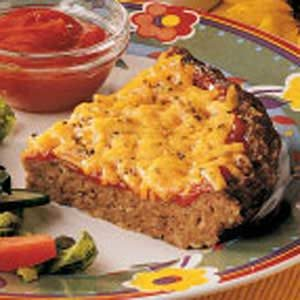 Cheesy Meat Loaf Pie Recipe