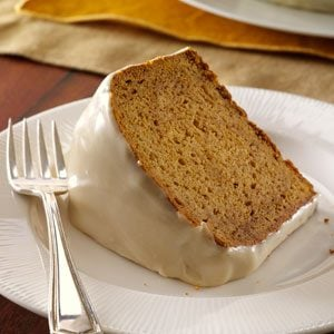 Gingersnap-Crusted Sweet Potato Cake Recipe