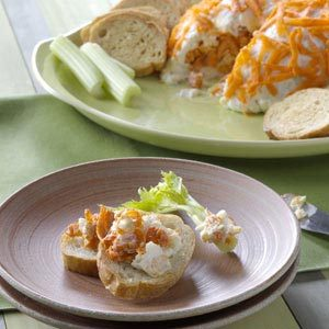 Buffalo Wing Cheese Mold Recipe