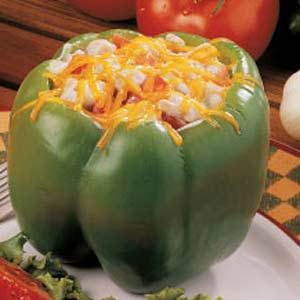 Turkey-Stuffed Peppers Recipe