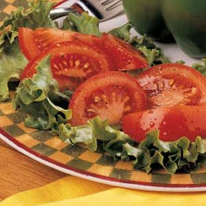 Tomatoes with Vinaigrette Recipe