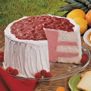 Sherbet Angel Torte Recipe