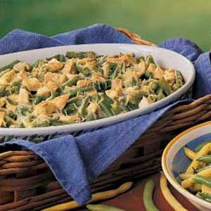 Chicken Bean Casserole Recipe