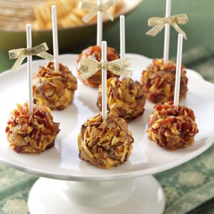 Brandy & Date Cheese Ball Pops Recipe
