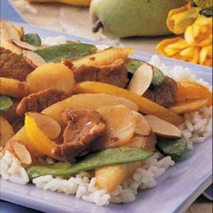 Pork and Pear Stir-fry Recipe