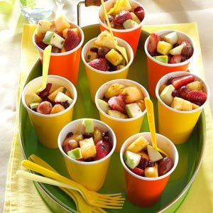 Minted Fresh Fruit Salad Recipe