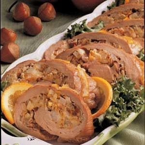 Pear-Stuffed Tenderloin Recipe