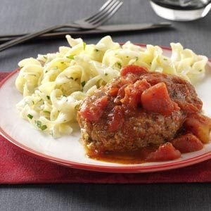 Italian-Style Salisbury Steaks Recipe