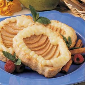 Almond Pear Tartlets Recipe