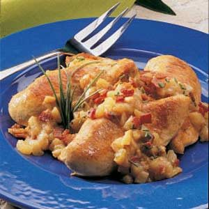 Chicken In Pear Sauce Recipe
