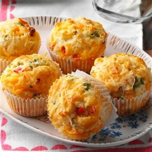 Cheddar Muffins Recipe