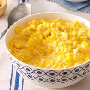 Cheddar Creamed Corn Recipe