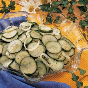 Marinated Cucumbers Recipe