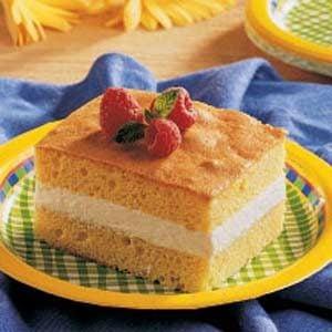 Cream Cake Dessert Recipe | Taste of Home