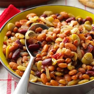 Sweet N Sour Beans Recipe