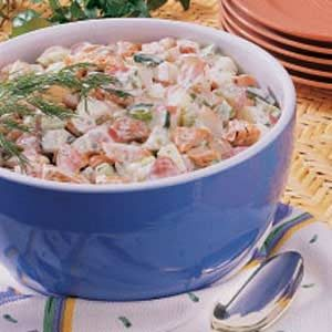 Salmon Potato Salad Recipe