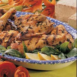 Herbed Chicken Quarters Recipe