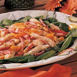 Warm Apricot Chicken Salad Recipe