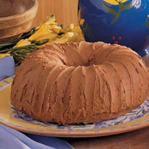 Chocolate Potato Cake with Mocha Frosting Recipe