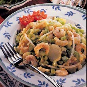 Polynesian Shrimp Salad Recipe