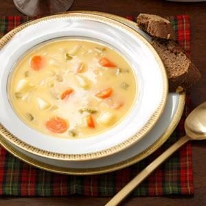 Cheddar Cheese & Beer Soup Recipe