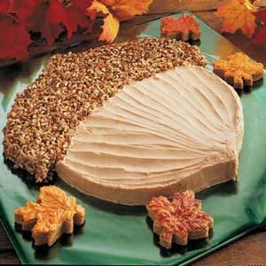 Acorn Brownie Cake