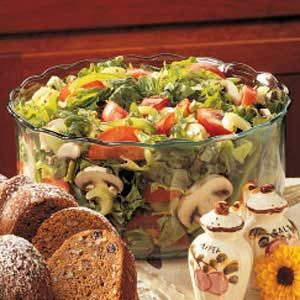 Garden Tossed Salad Recipe