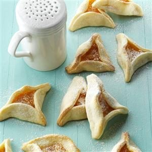 Apricot-Filled Triangles Recipe