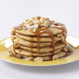Sweet Potato Pancakes with Caramel Sauce Recipe