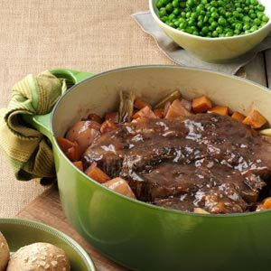 Balsamic Braised Pot Roast Recipe