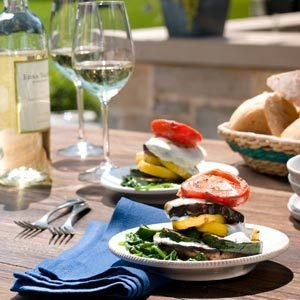 Grilled Vegetable and Goat Cheese Napoleons Recipe
