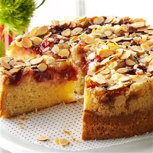 Cherry-Almond Coffee Cake Recipe