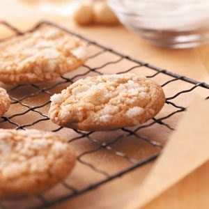 White Chocolate Nut Crackles Recipe