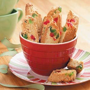 Almond Cherry Biscotti Recipe