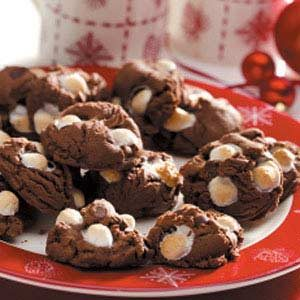 Cocoa Surprise Cookies Recipe