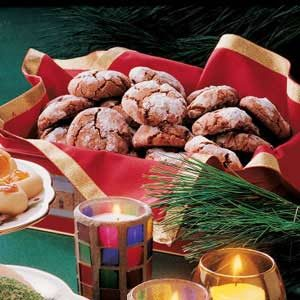 Snow-Topped Chocolate Mint Cookies Recipe