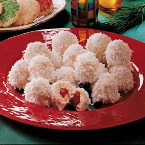Cherry Snowballs Recipe