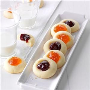 Jeweled Thumbprints Recipe