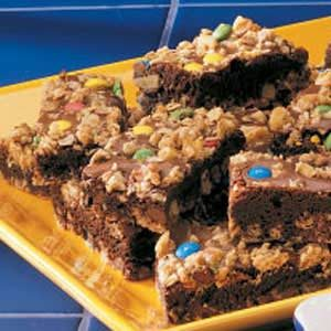 Oatmeal Brownies Recipe