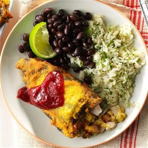 Turkey & Corn Bread Stuffing Rellenos