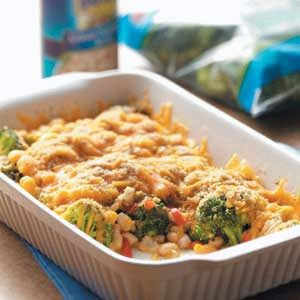 Broccoli Bean Bake Recipe