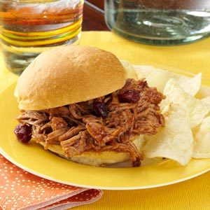 Cranberry BBQ Pulled Pork