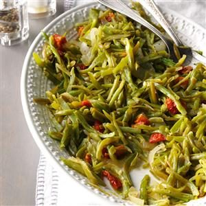 Zesty Garlic Green Beans Recipe