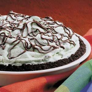 Mint Chocolate Chip Pie